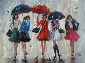 5 Rain Girls