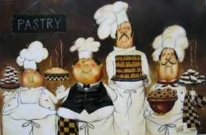 Four Pastry Chefs