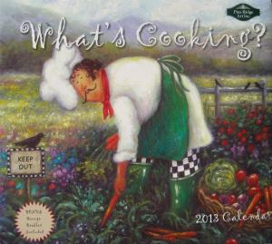 What's Cooking Chef Calendar