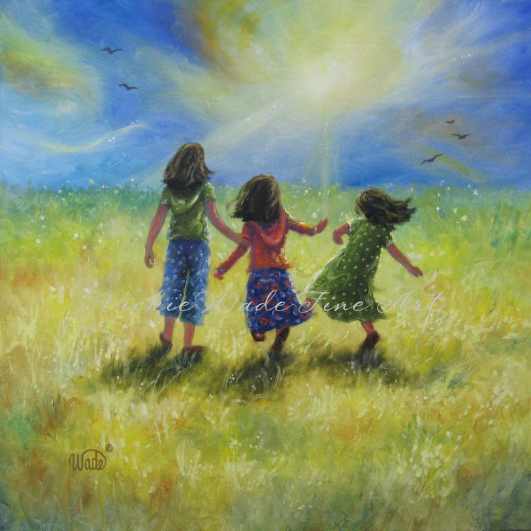 three sisters art vickie wade fine art
