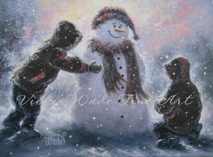 Snowman - Two Boys