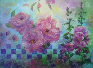 Feminine Florals 001W