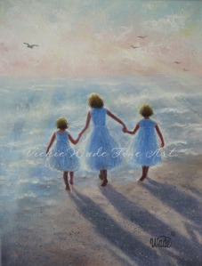 Imagine ~ Three Beach Girls W005