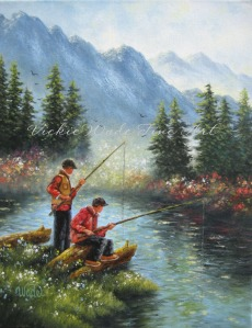Alpine Lake Fishing W002 - Copy (2)