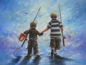 Two Little Boys WFishing 001