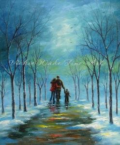 Winter Walk II W007