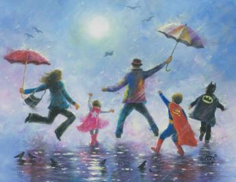 Singing Rain Super Hero Kids - Copy