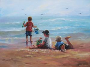 Three Little Beach Boys W