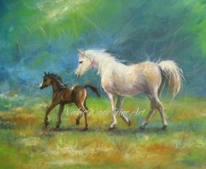 White Mare, Black Colt W