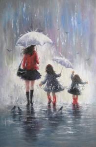 Rainy Day Walk With Mom W010
