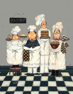 4 Tall Pastry Chef Gray LR W