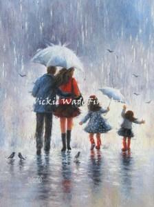 Rain Family Two Girls LRW