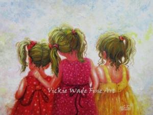 Three Little Blonde Sweet Pea Sisters LRW