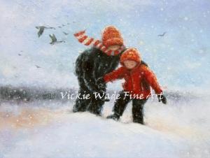two-snow-kids-deep-snow-lrw